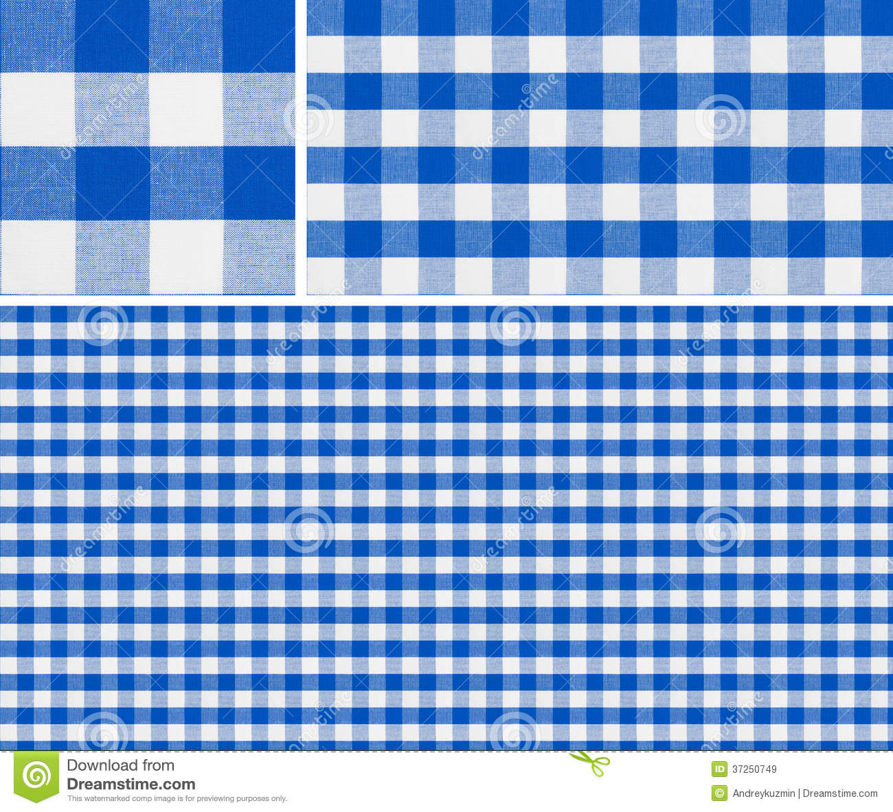 Blue tablecloth background - Seamless Red Picnic Table Cloth Pattern Royalty Free Stock Images