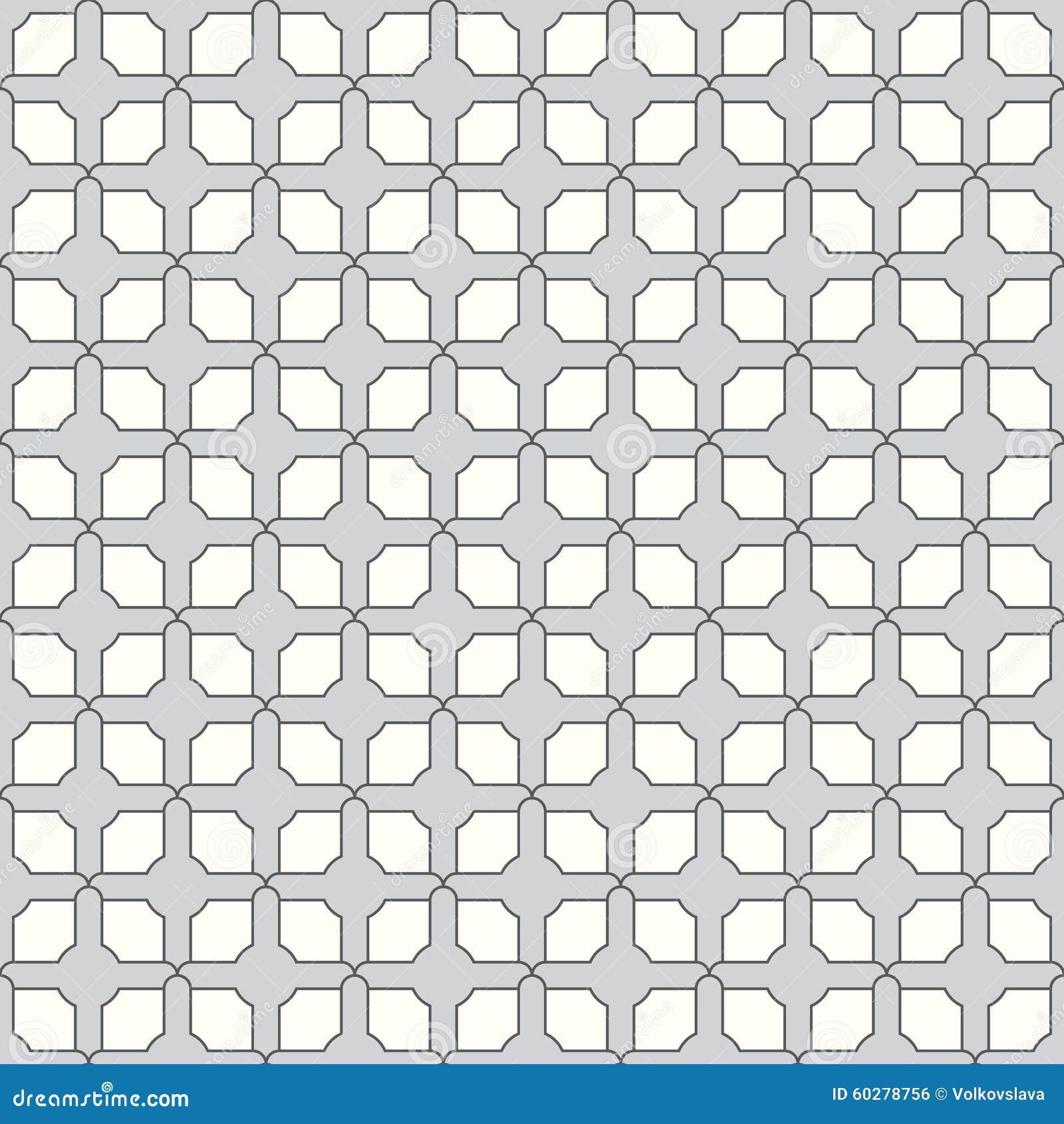 Aninimal Book: Seamless Repeating Geometric Pattern. Stock Vector - Image ...