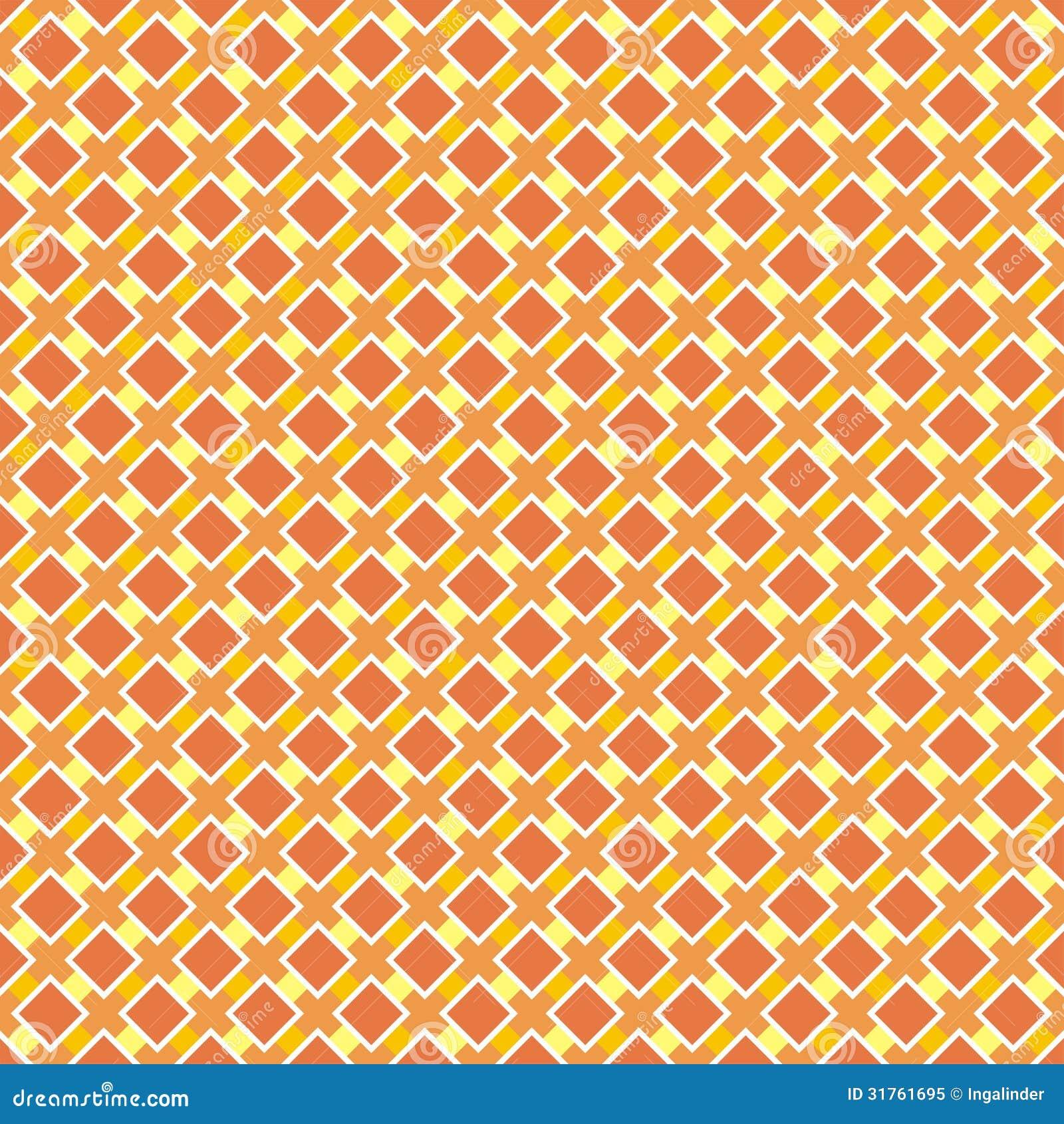 Seamless Vector Retro Summer Or Autumn Pattern Royalty Free Stock Photo