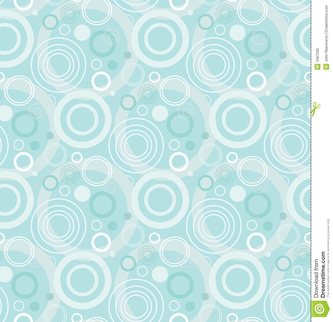 Seamless retro wallpaper pattern stock photo image 1587290 for Tapeten mit muster