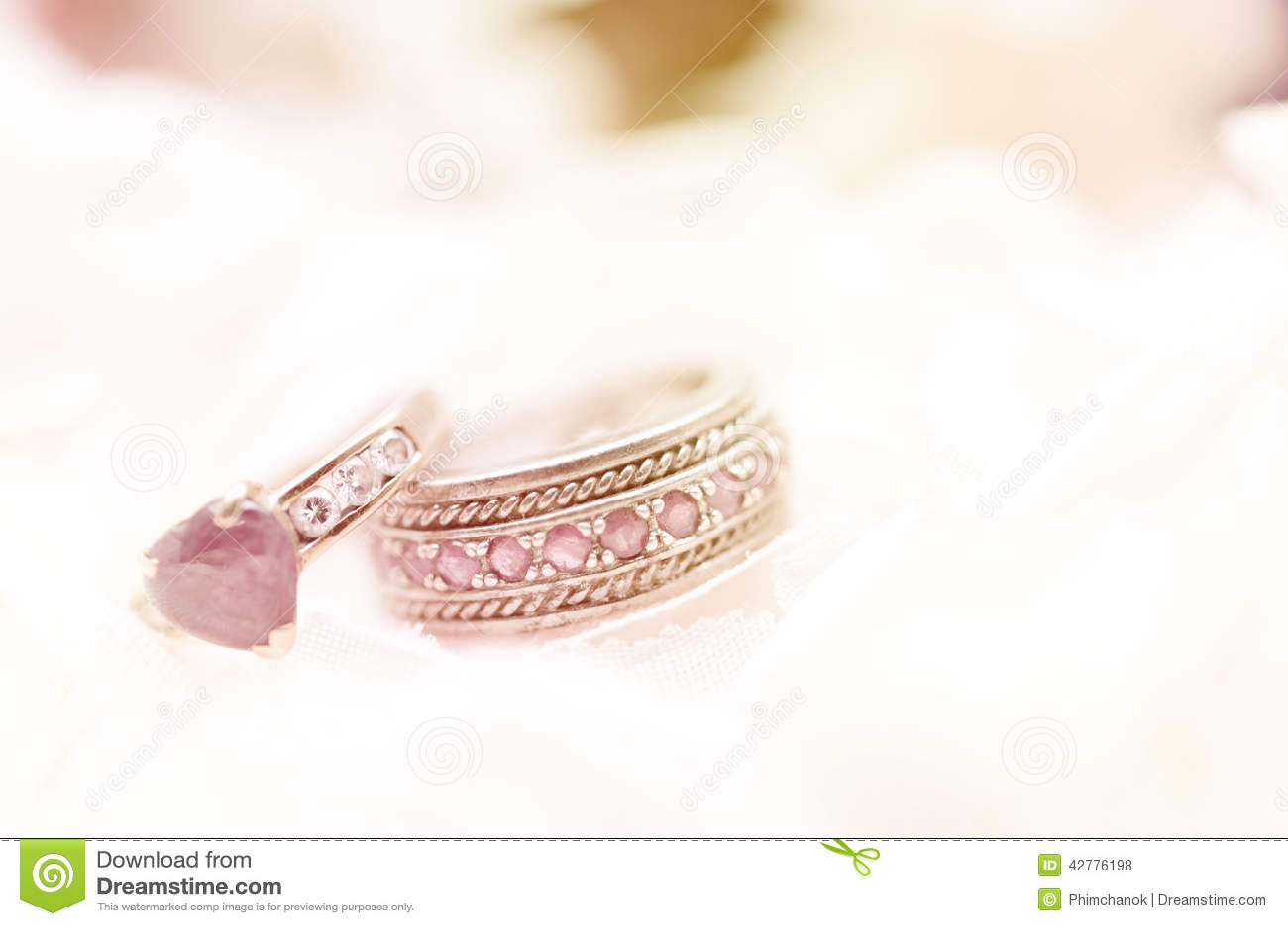 Seamless Romantic Background Stock Photo - Image: 42776198