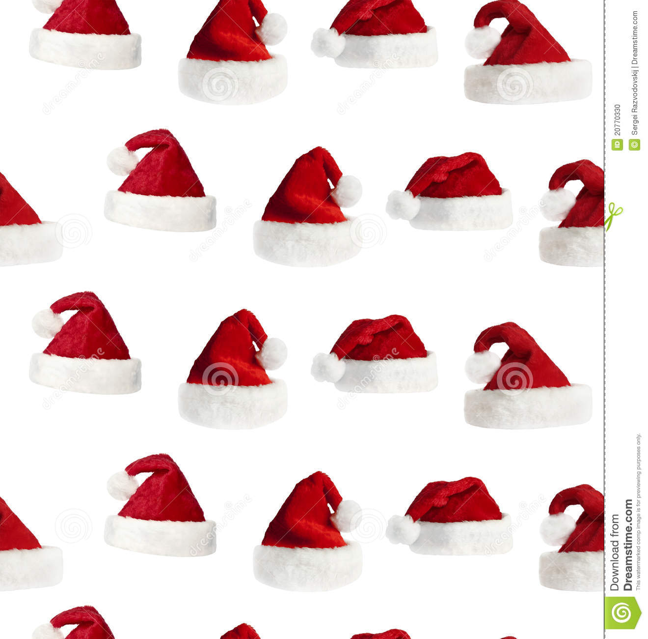 34f2093c3ca Seamless Santa Hat Background Stock Photo - Image of decorative ...