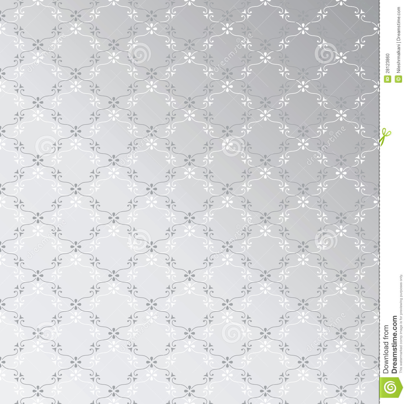 Seamless silver background stock vector. Image of pattern ...