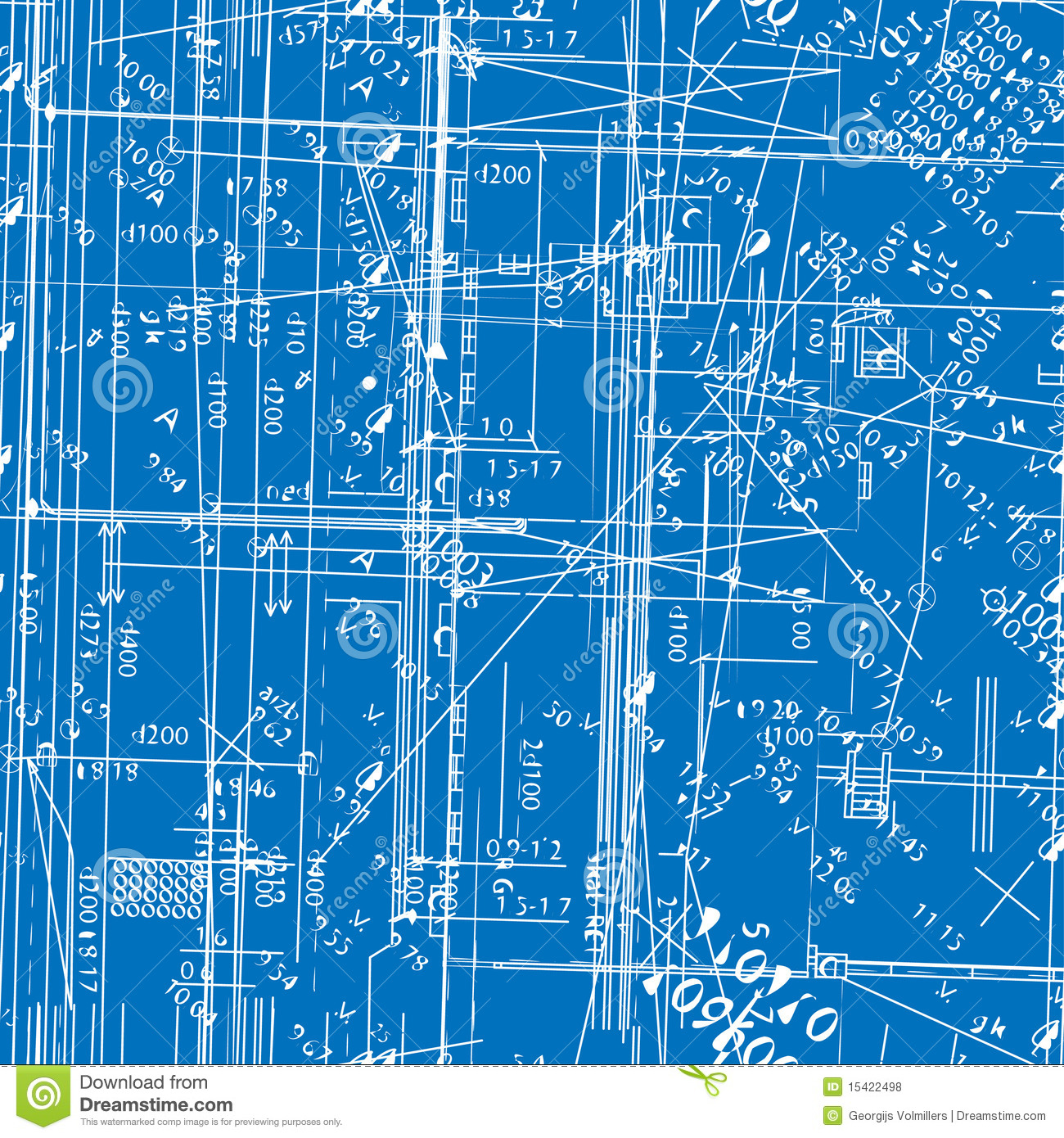 Seamless simulating engineering blueprint stock vector seamless simulating engineering blueprint malvernweather Images