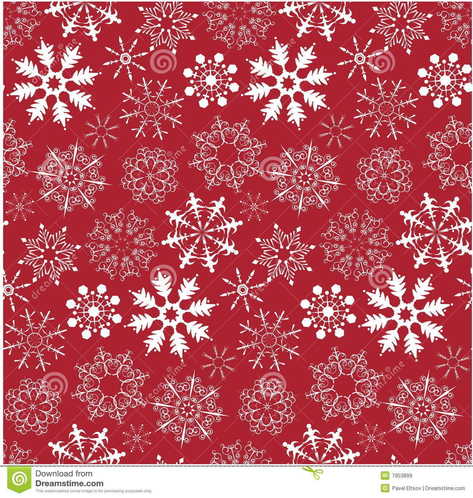 Snowflake Background