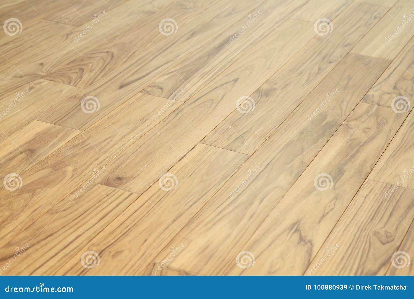 Download Solid Teak Wood Floor Parquet Stock Image