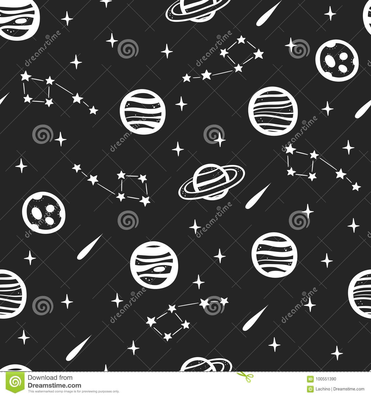 Space pattern set (With images)   Seamless textures  Space Repeating Background Patterns