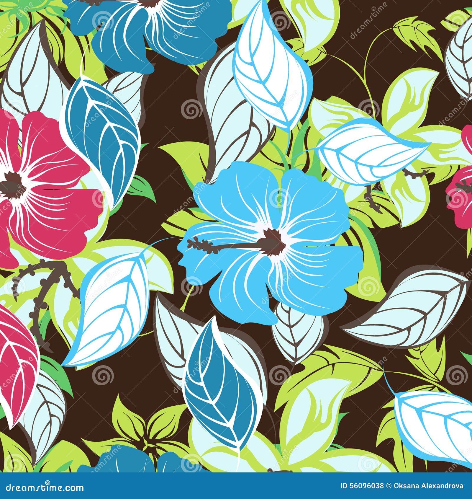 Seamless spring flower illustration stock vector illustration of download seamless spring flower illustration stock vector illustration of elegance outline 56096038 mightylinksfo