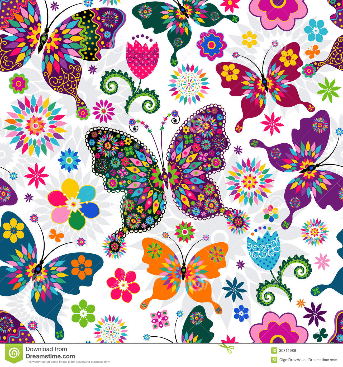 seamless spring pattern royalty free stock images image Cblank Business Cards for Free Business Card Design Templates