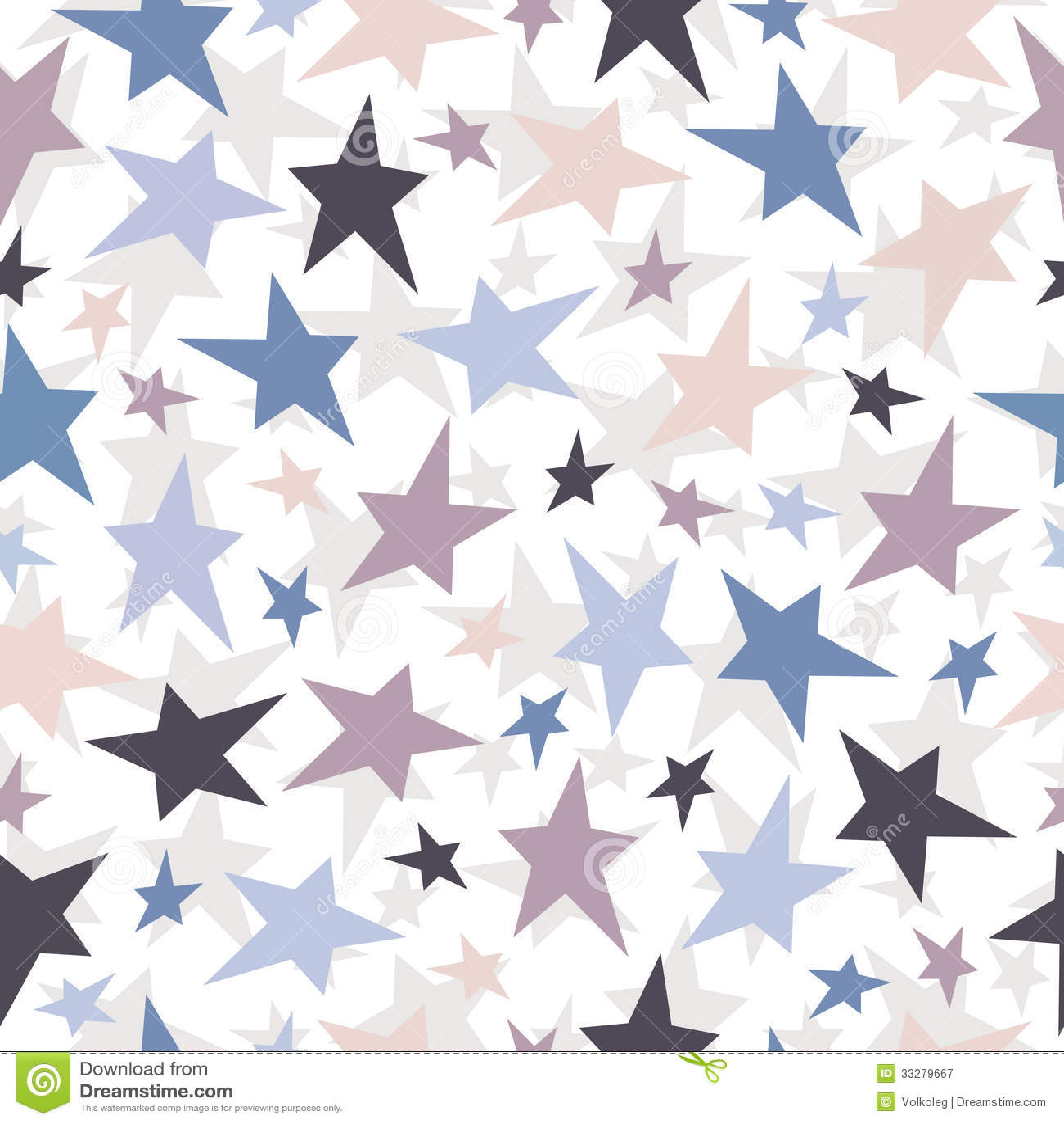 Seamless Stars Pattern Vector Texture Illustrati Stock