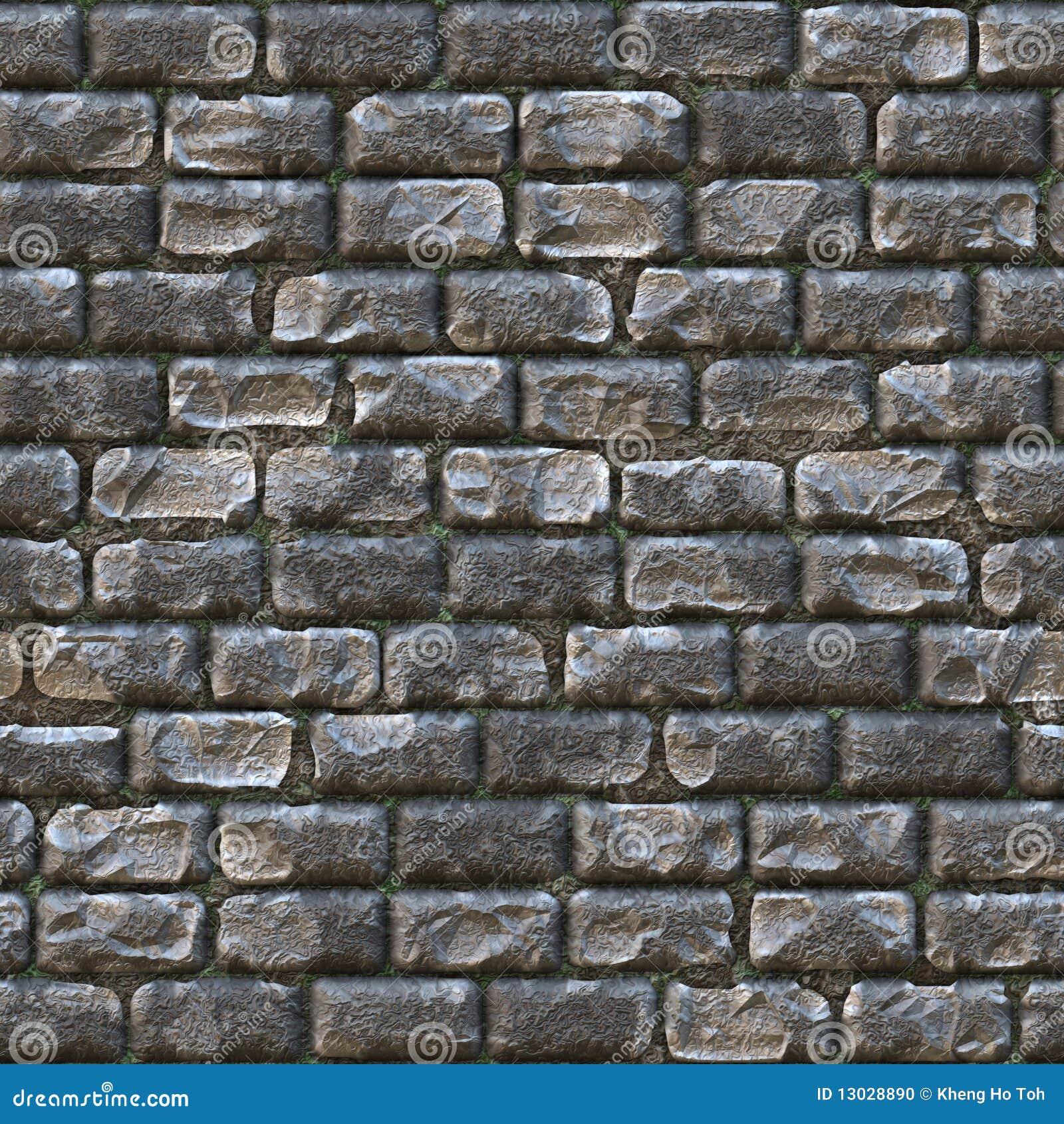 Seamless Stone Brick Wall
