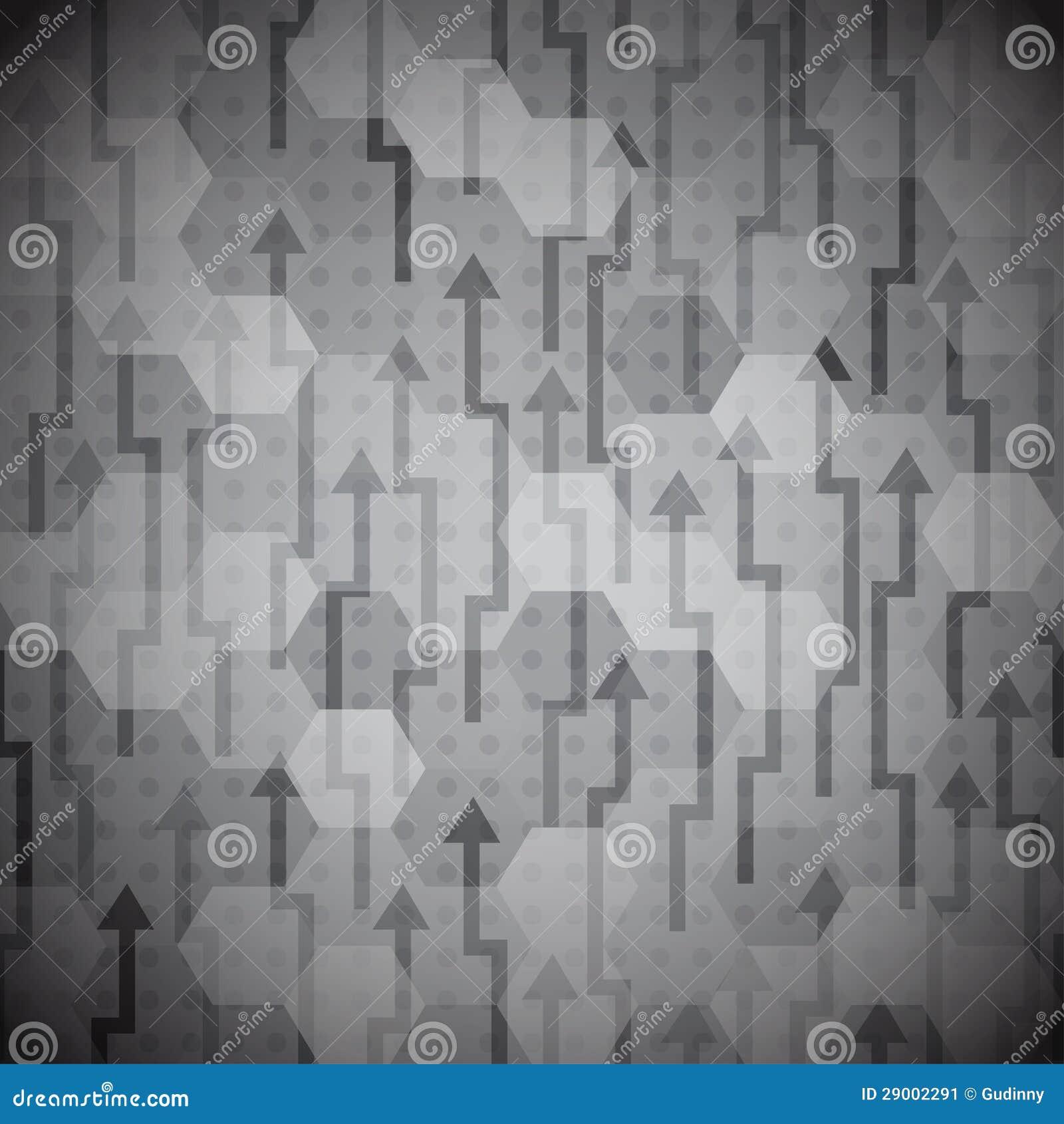 Seamless svart pilar mönstrar