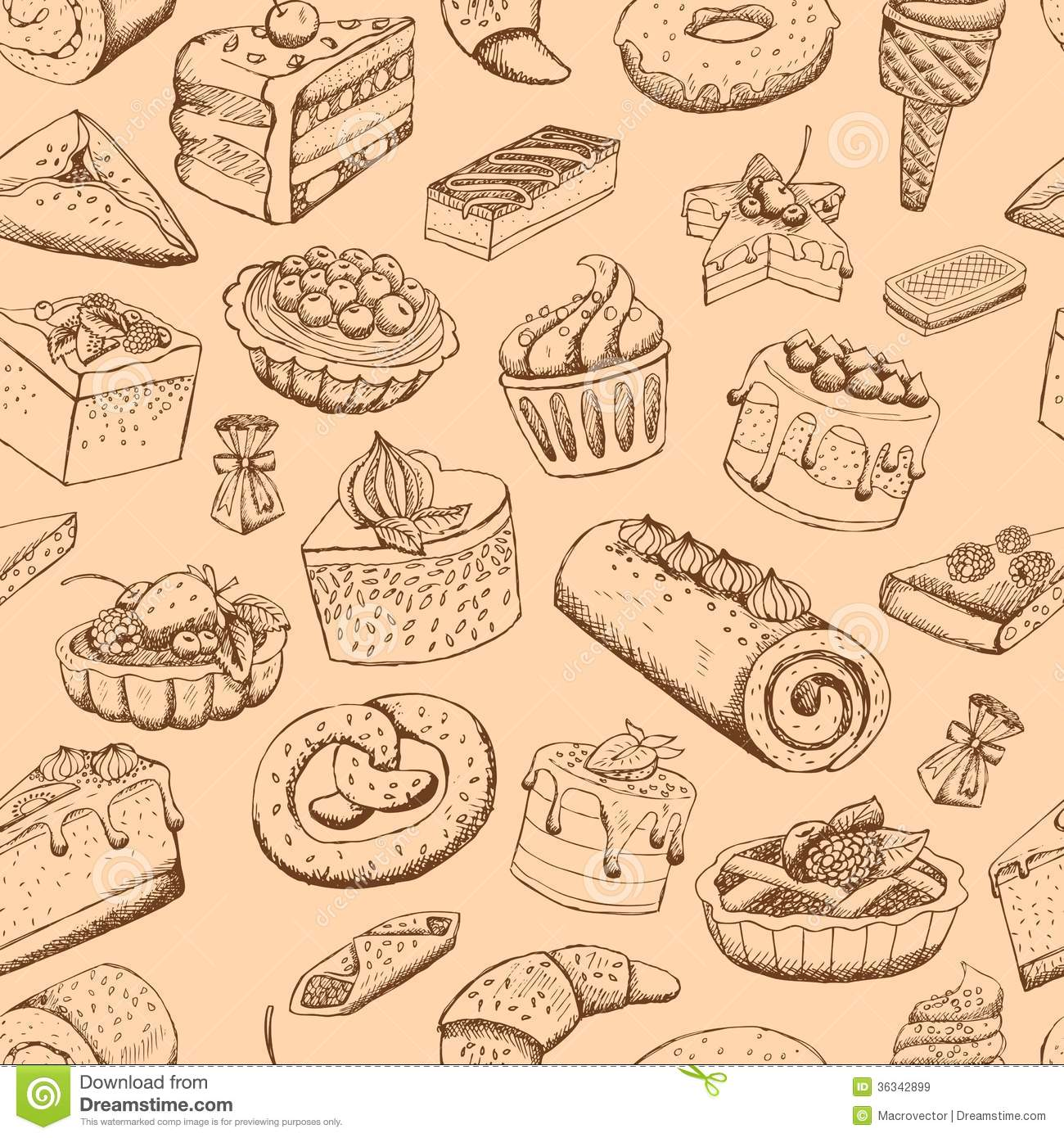 Sweet Pastries Wallpaper Cake Ideas And Designs