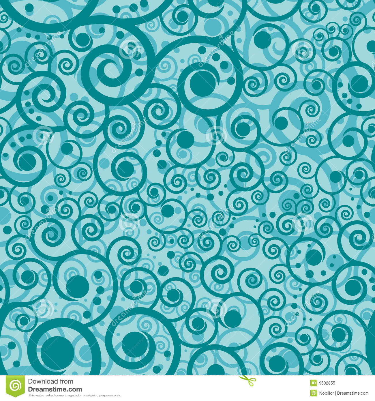 turquoise swirls design wallpapers - photo #17