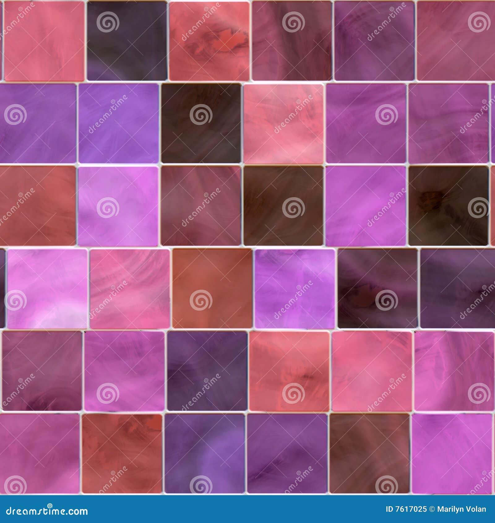 Seamless tegelplatta för mosaik