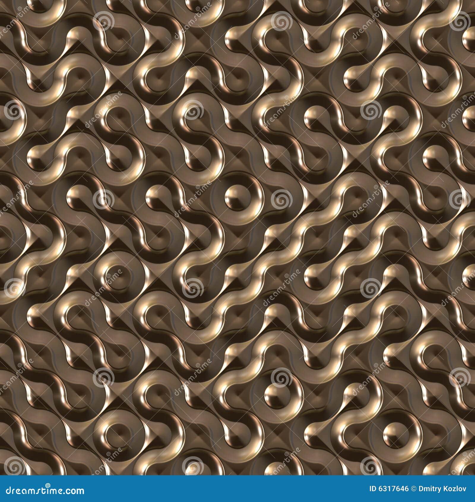 Seamless textur för futuristic metall