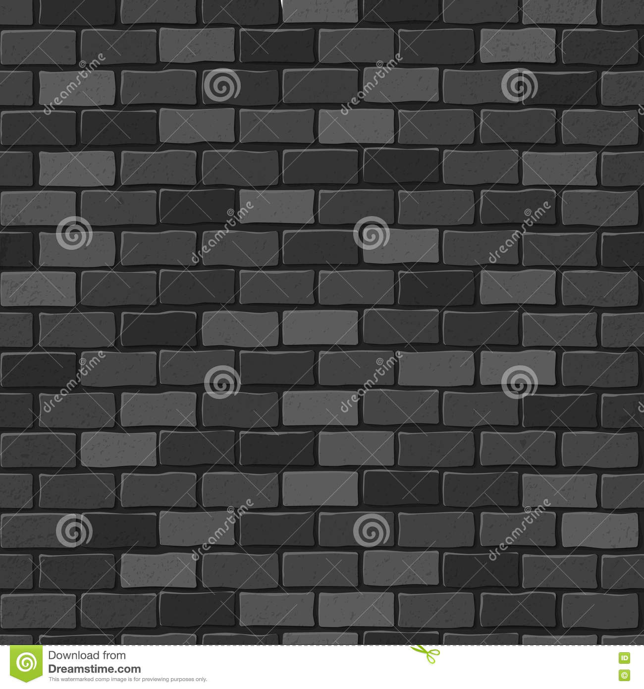 seamless black wall texture. Seamless Texture. Black Brick White Wall. Wall Texture S