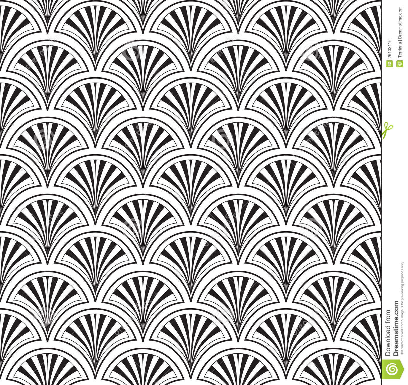 Seamless Texture With Floral Ornament Royalty Free Stock