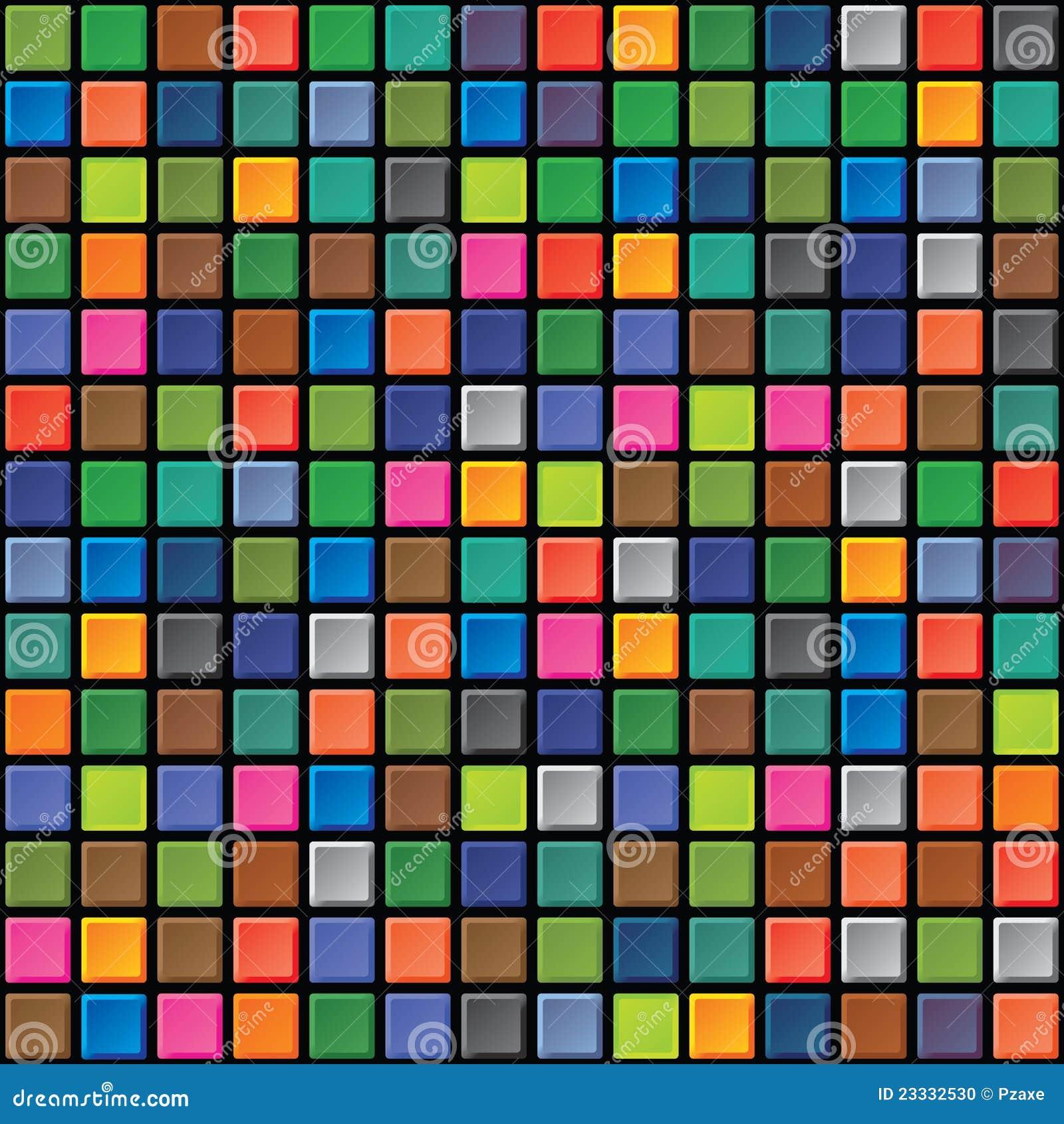 Seamless Texture Iridescent Tiles Stock Photo Image