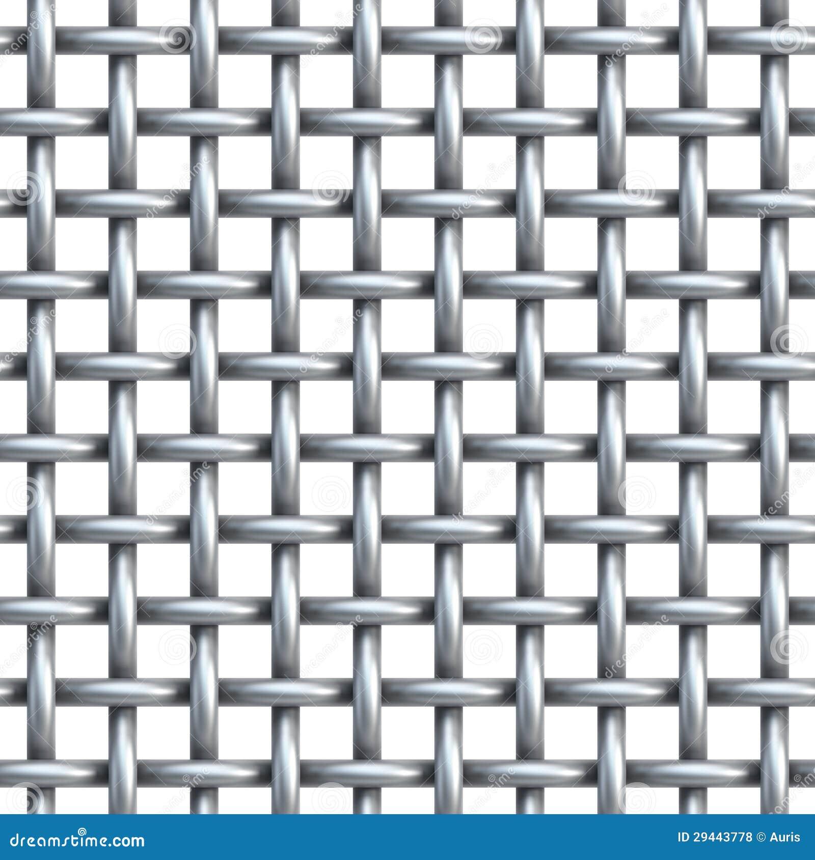 Seamless Texture Of Metal Net Stock Illustration