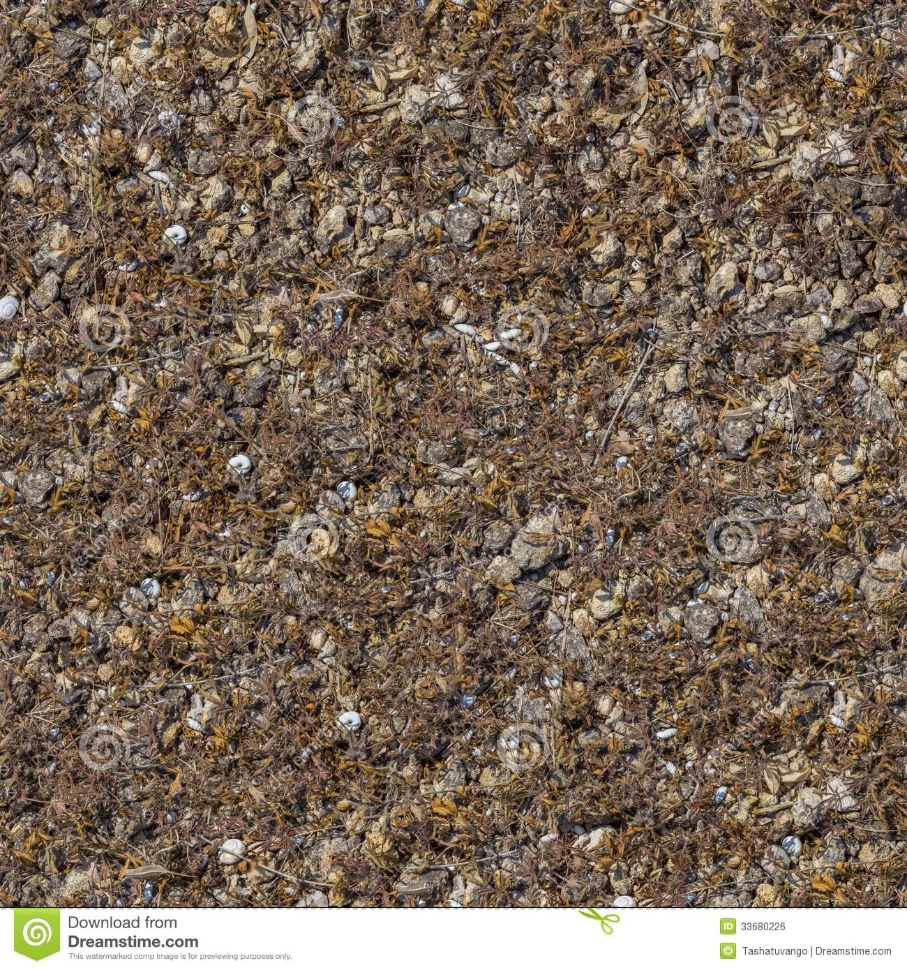 Seamless texture of rocky soil stock photo image 33680226 for Soil texture