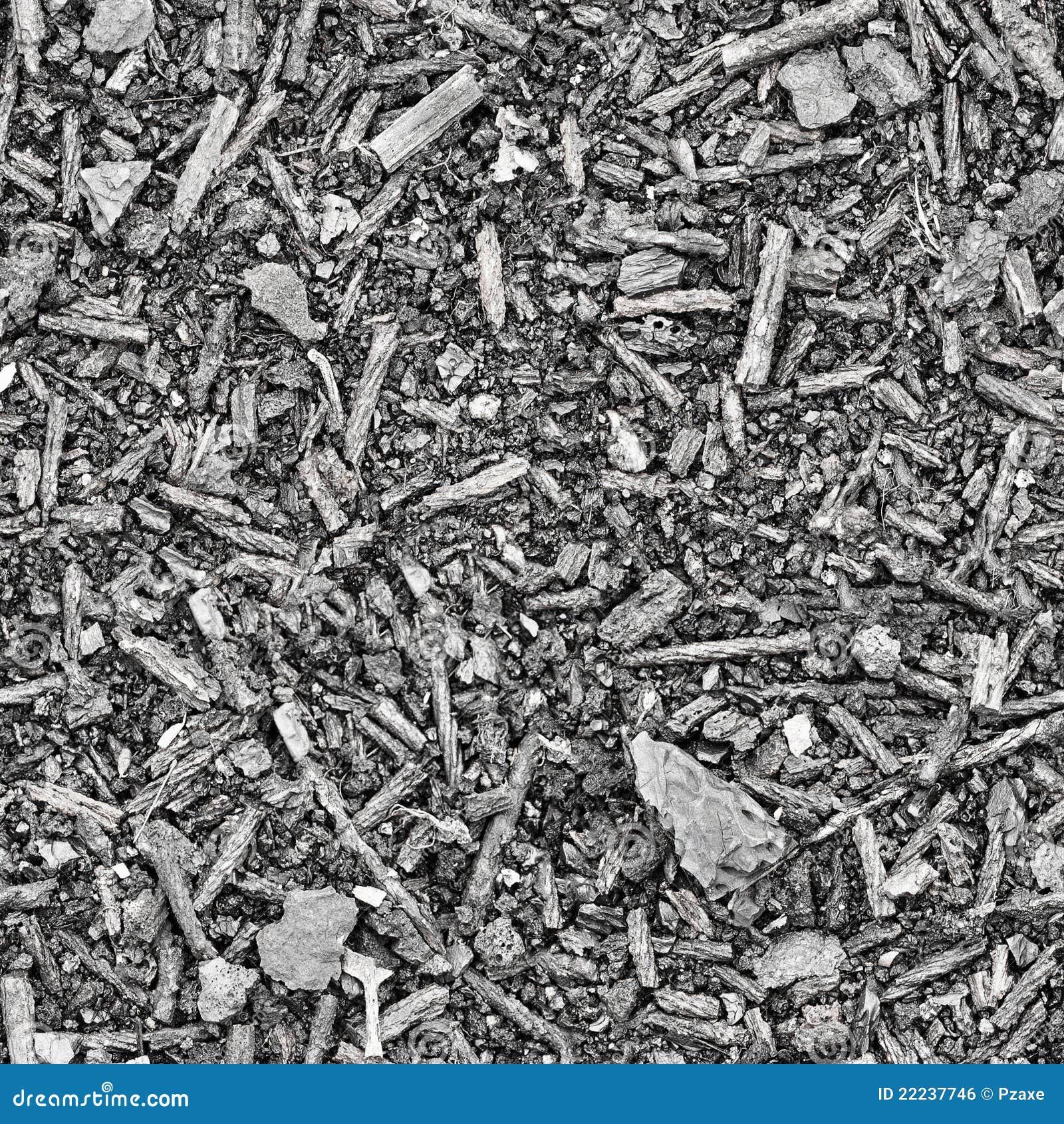 Ash And Slag : Seamless texture slag and ash royalty free stock image