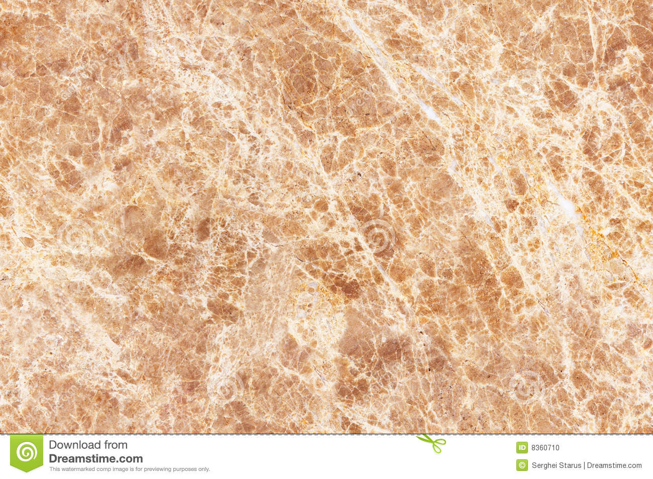 Seamless Texture Warm Colored Marble Stock Photo Image