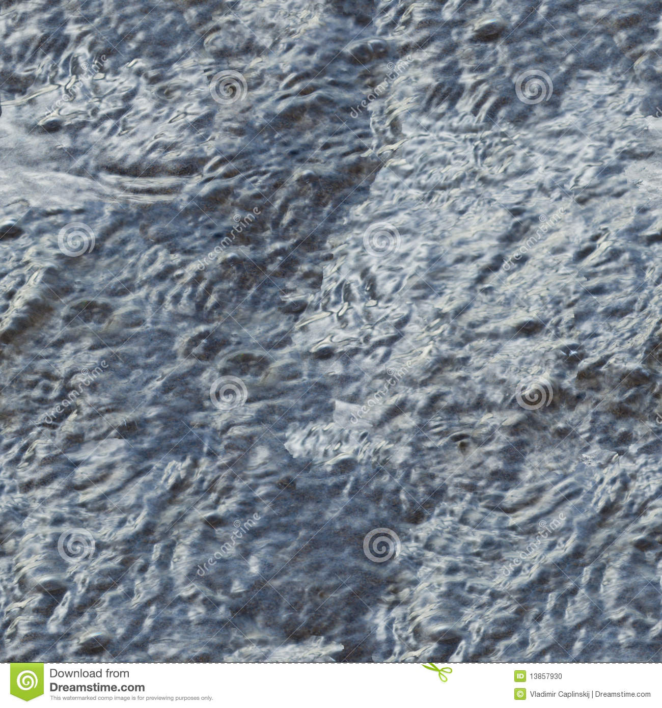 Seamless Texture Water On Beach Stock Photo Image of effect water