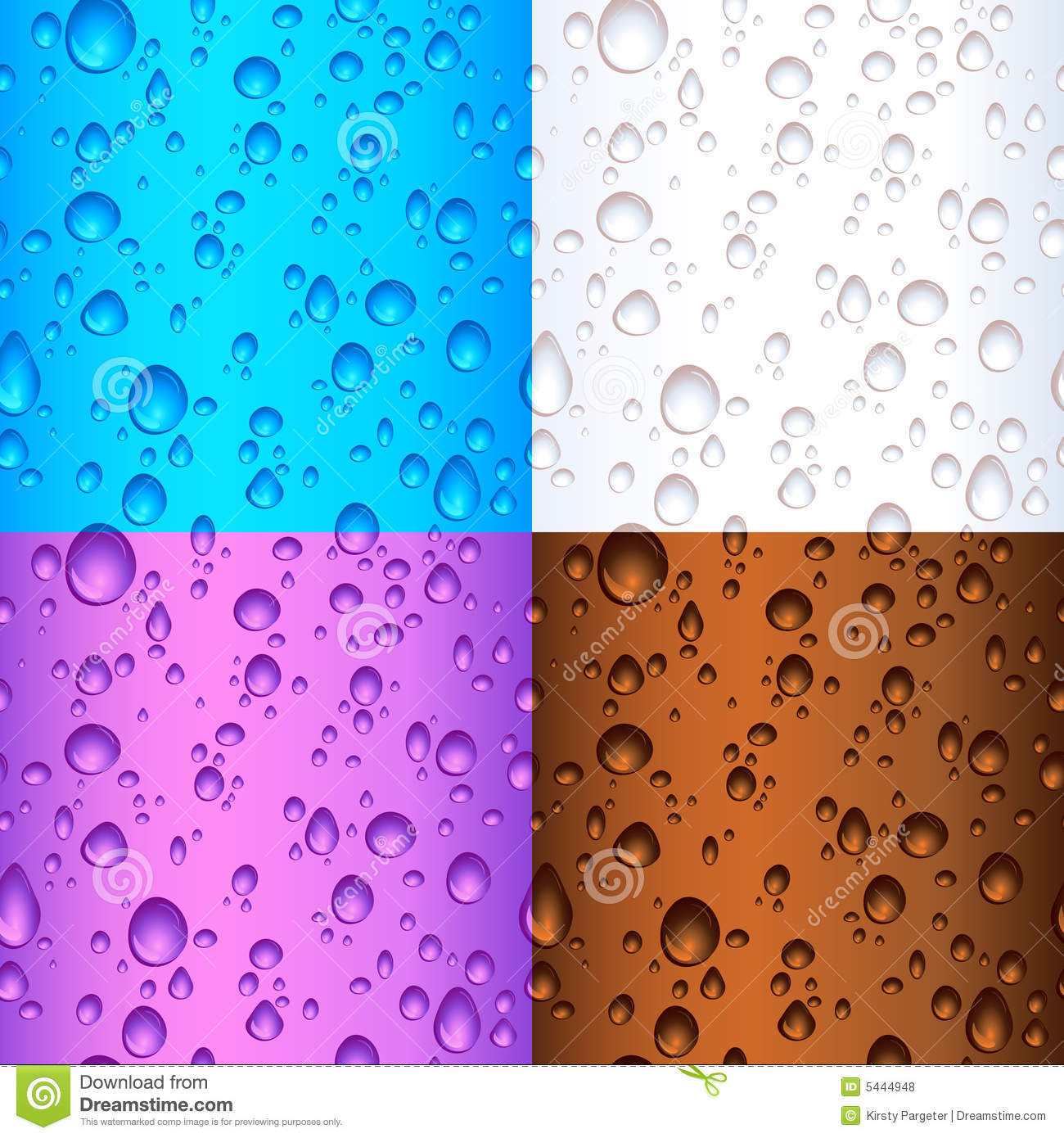 Seamless Tile Water Drops Royalty Free Stock Photos ...