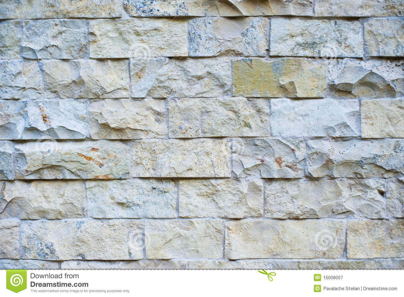 Seamless Tiling Stone Wall. Stock Image - Image of construction ...