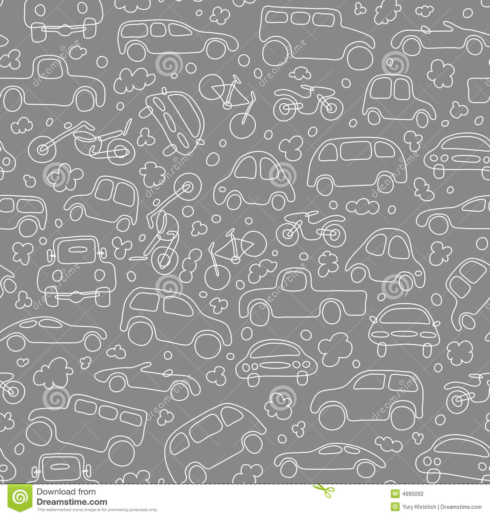 Seamless trafikvektorwallpaper