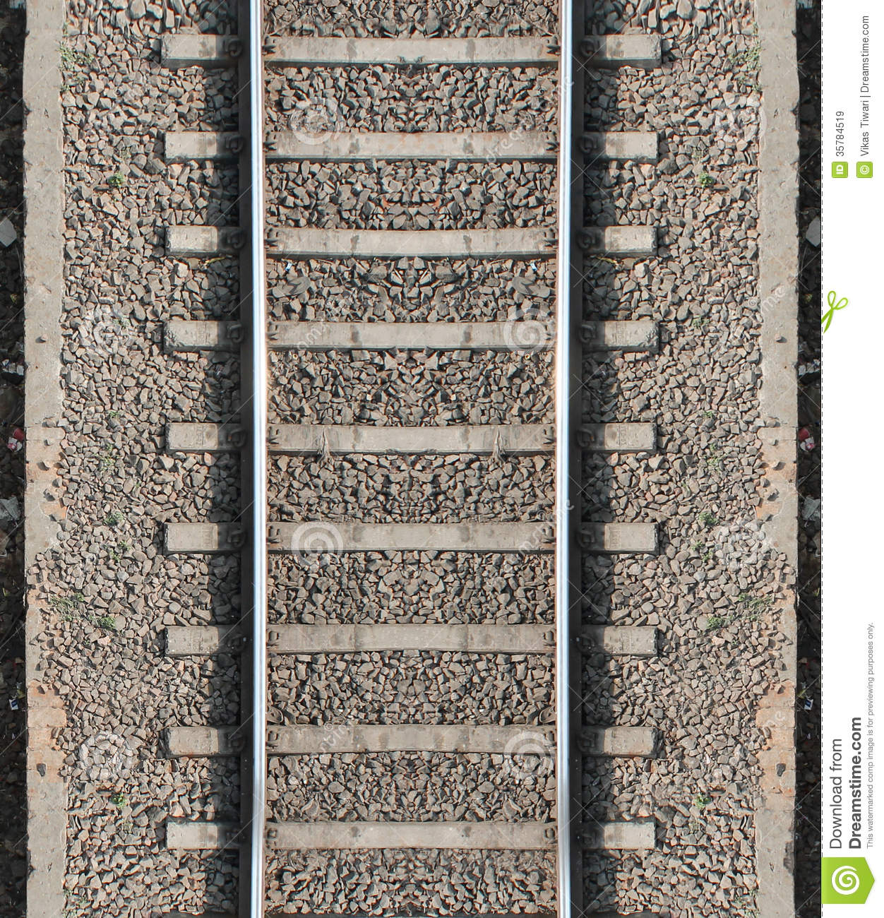 Seamless Train Track Texture Stock Image - Image of life, gaadi