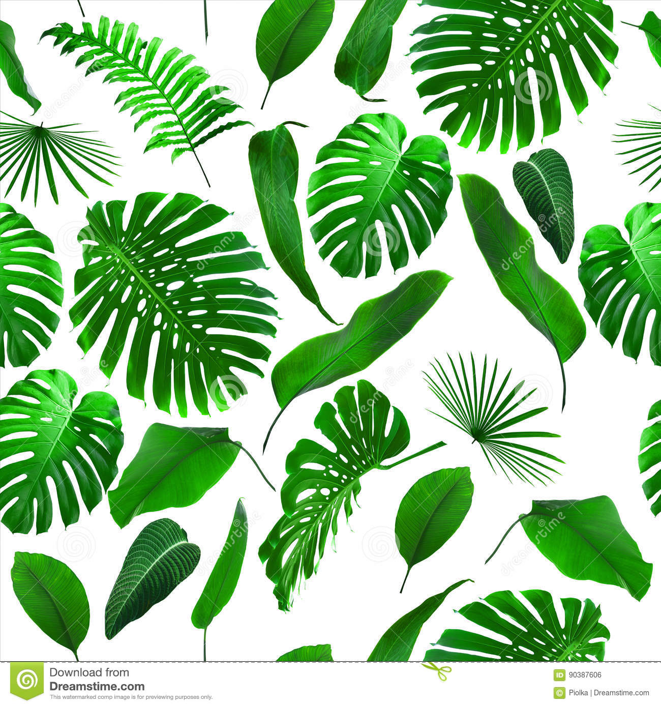 Seamless Tropical Jungle Leaves Background Stock Photo Image Of Forest Banana 90387606 Tropical wallpaper self adhesive peel and stick banana leaf wall mural removable exotic leaves wallpaper tropical leaf pattern wall mural themes : dreamstime com