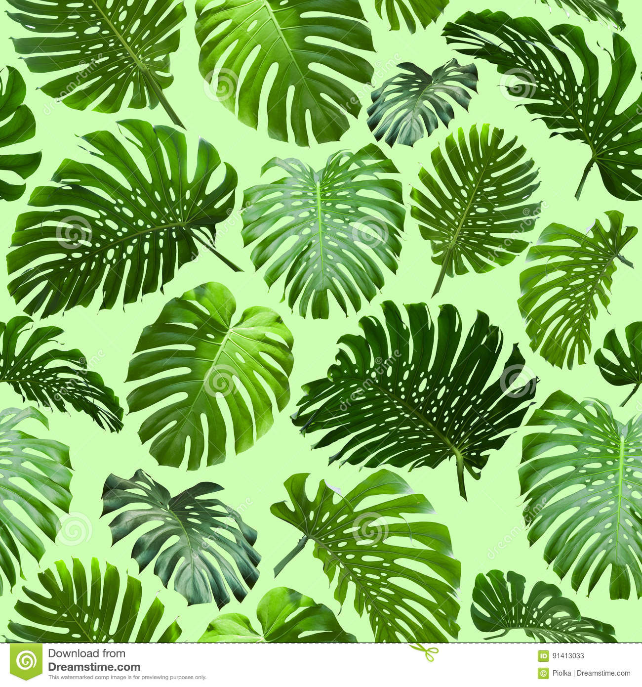Seamless Tropical Jungle Leaves Background Stock Illustration Illustration Of Painting Leaves 91413033 Jungle background filled with plants and leaves! dreamstime com
