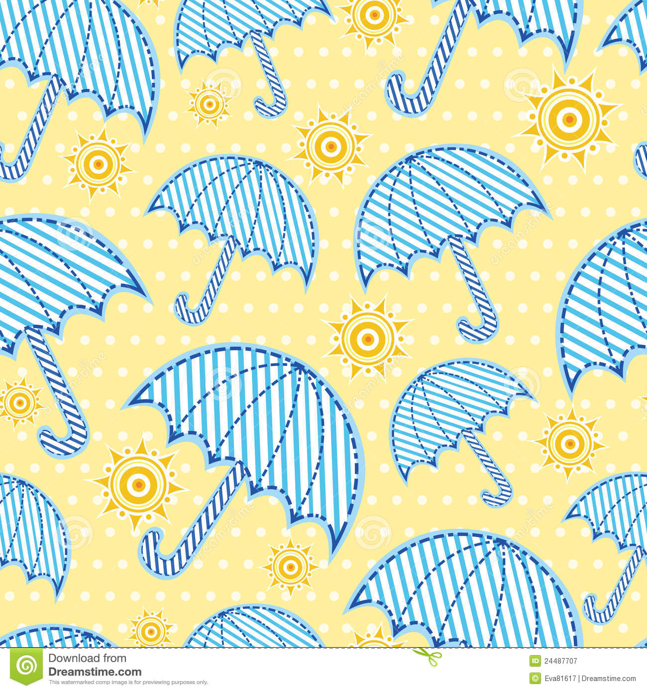 Umbrella Pattern Magnificent Inspiration
