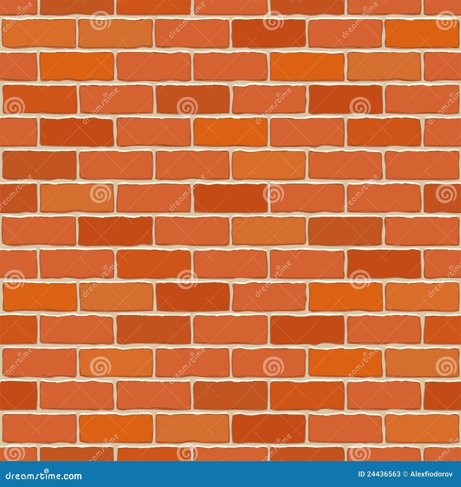 Seamless Vector Brick Wall