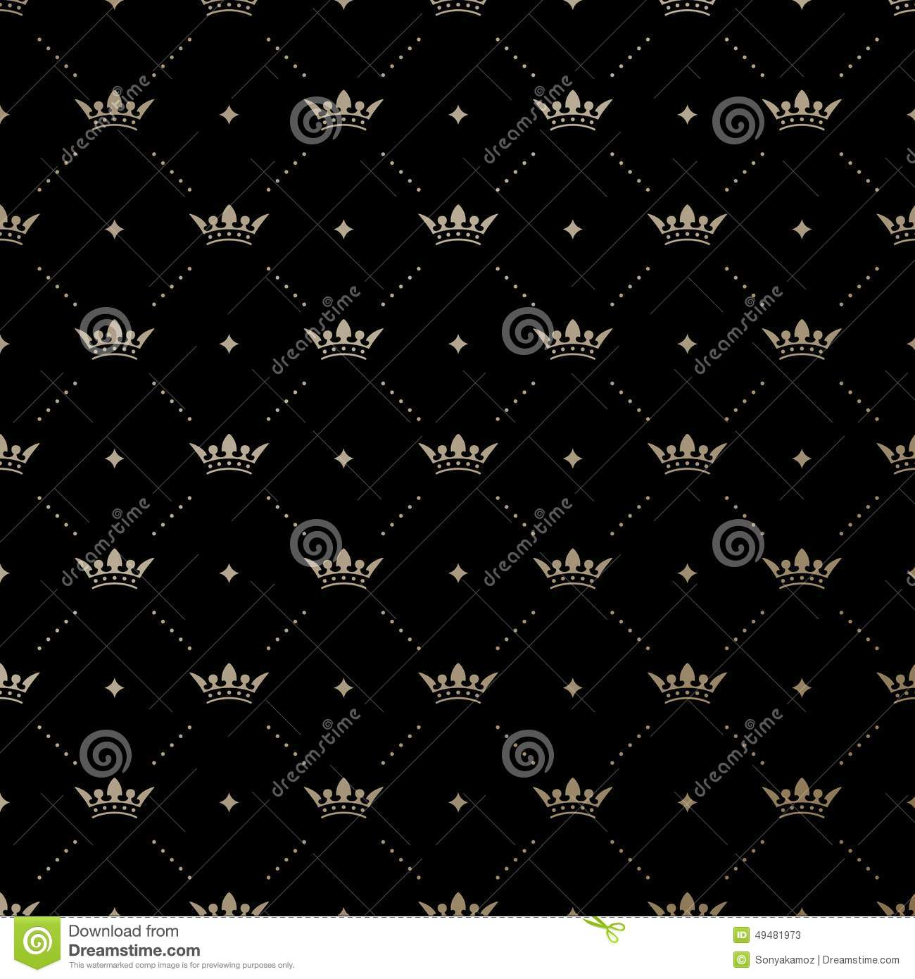 Gold crown background - photo#24