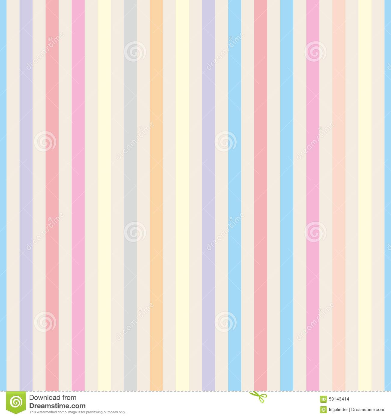 Pastel pink striped background seamless vector pastel stripes - Seamless Vector Pastel Stripes Background Stock Vector