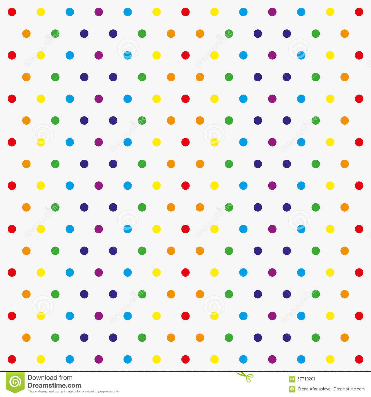 seamless vector pattern with colorful polka dots stock vector image 57710201 baby shower invitations clip art images baby shower invitation border clipart