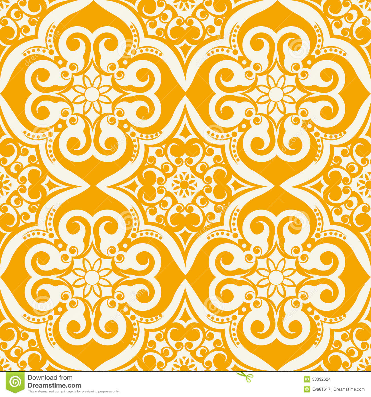 Seamless Vector Pattern Stock Images Image 33332624