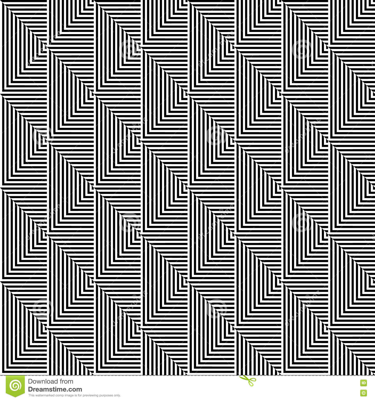 Seamless Vector Pattern Symmetrical Geometric Abstract
