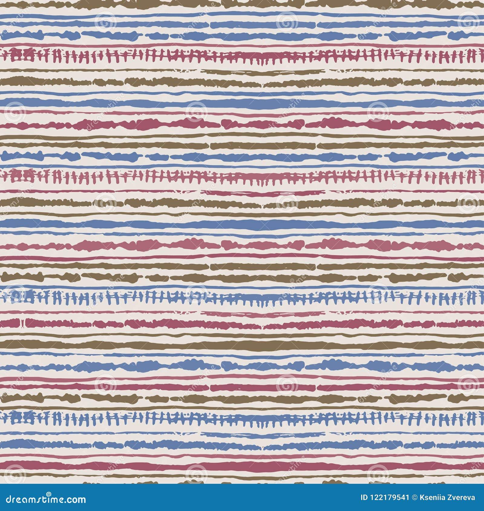 Seamless Vector Shibori Tie-dye Pattern Of Different Colours