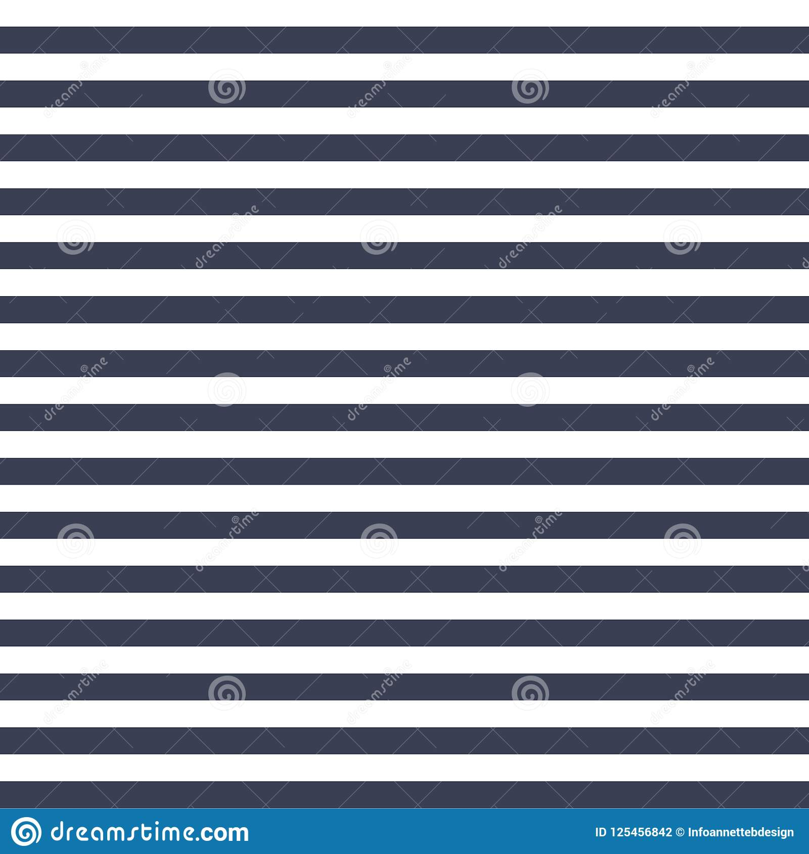 7c68aef32d1 Seamless vector simple stripe pattern with navy and white horizontal  parallel stripes background texture.