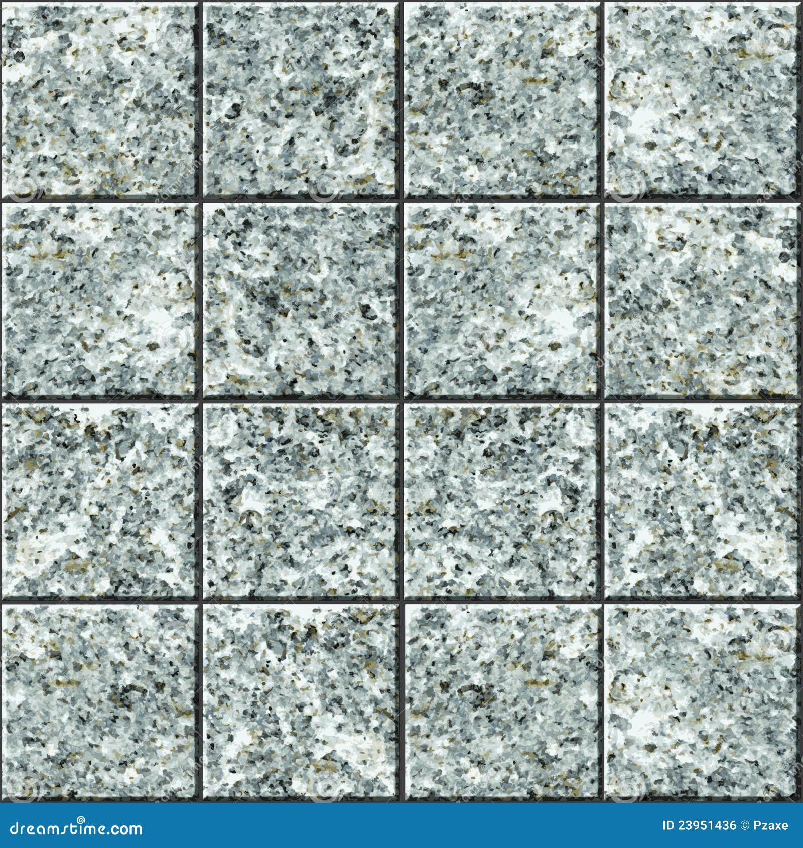 Seamless Vector Texture Granite Tile Flooring Stock