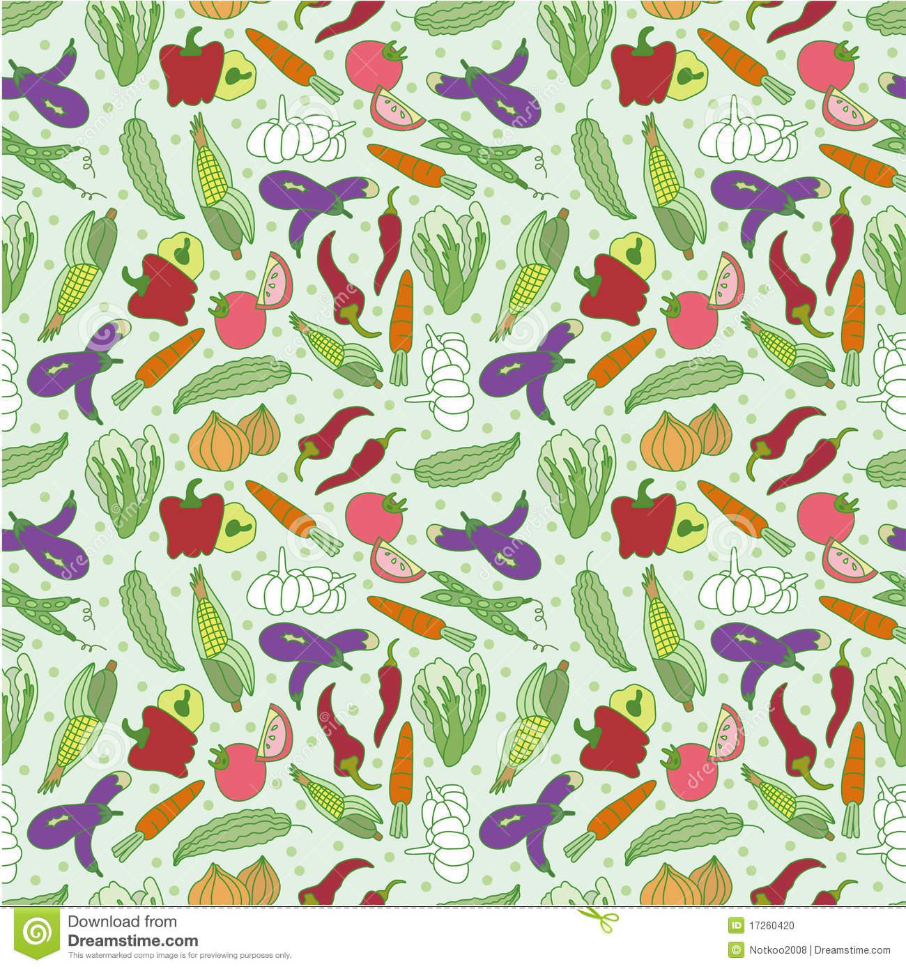 Vegetable pattern - photo#6