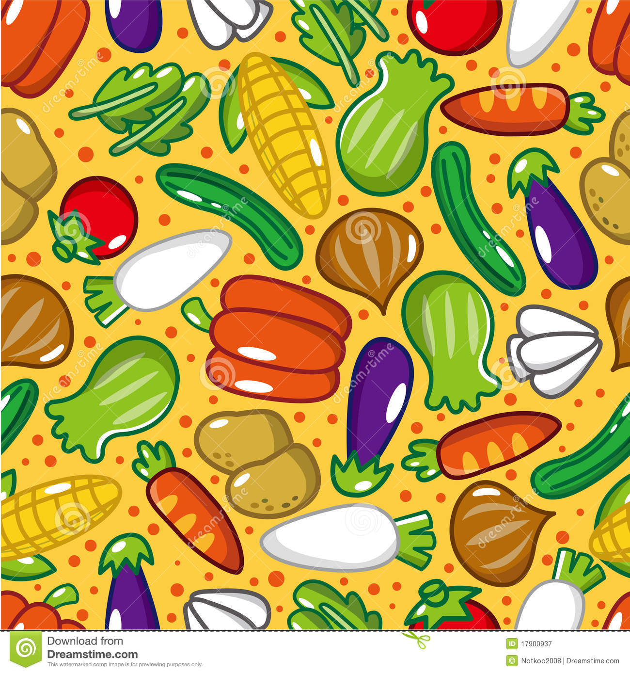 Vegetable pattern - photo#25