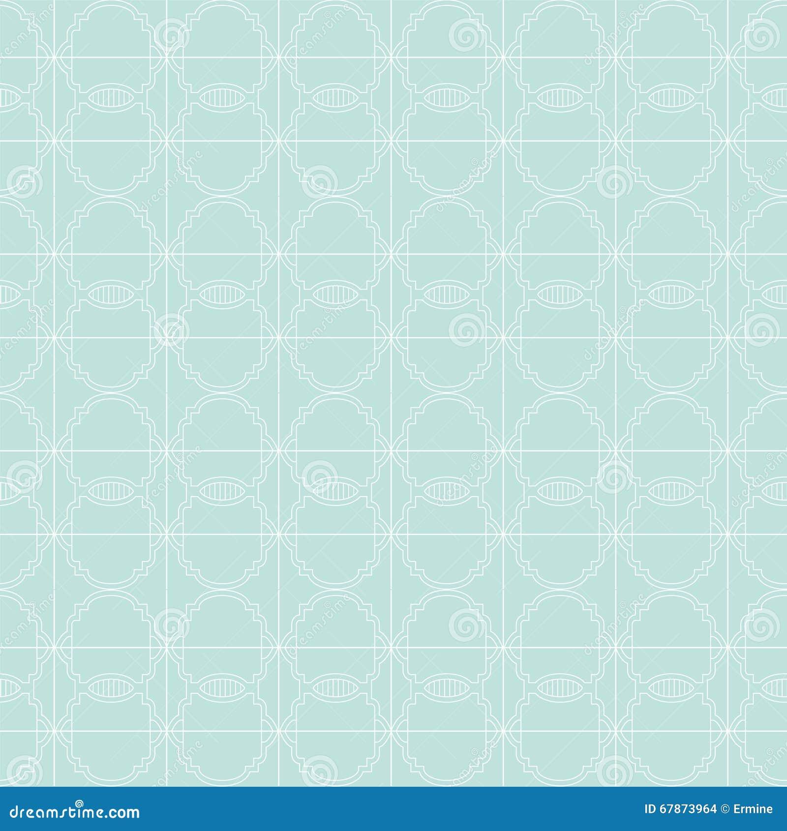 Seamless vektor för geometrisk modell Upprepa som är geometriskt