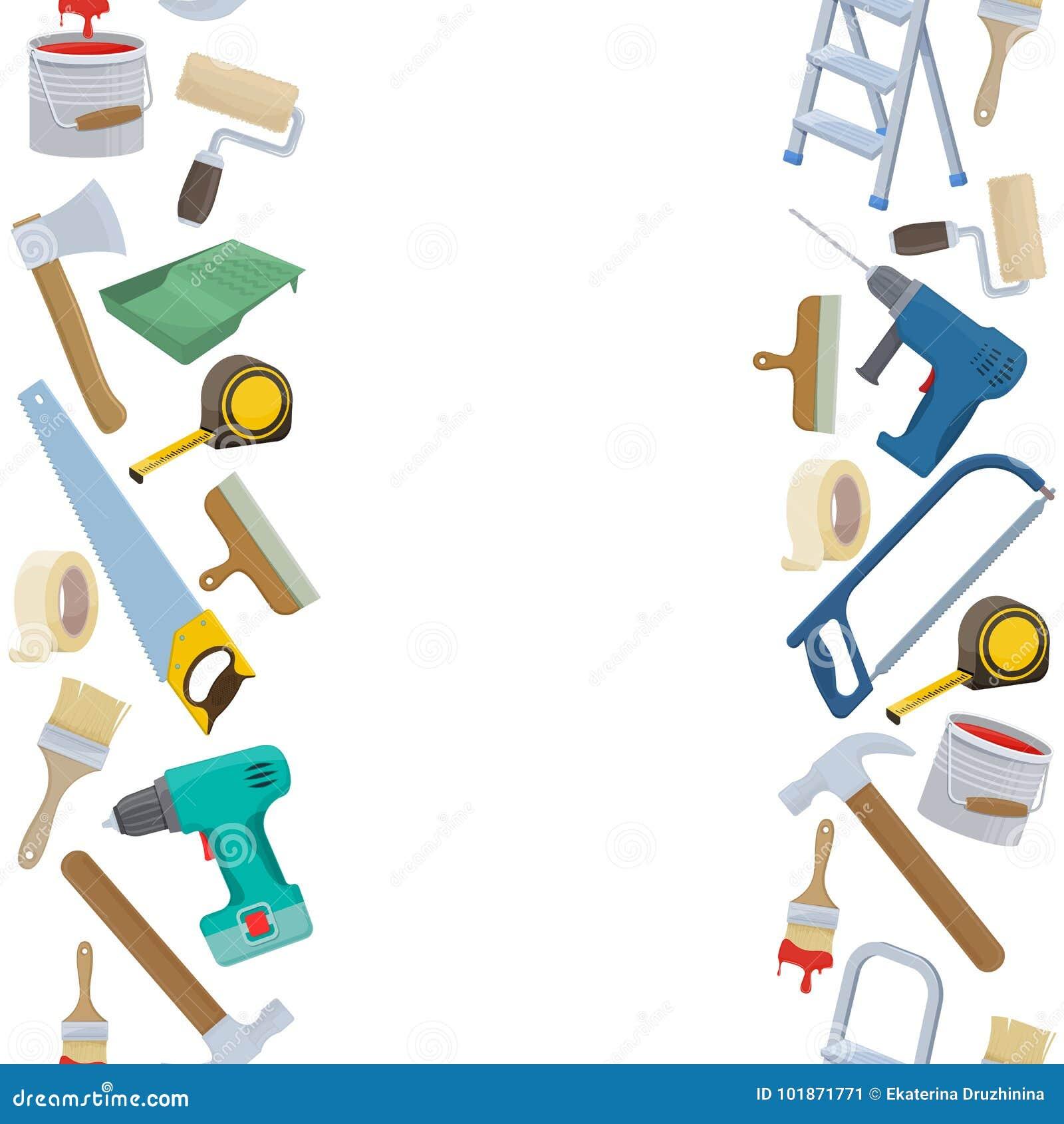 Repair tool illustration stock vector. Illustration of ...