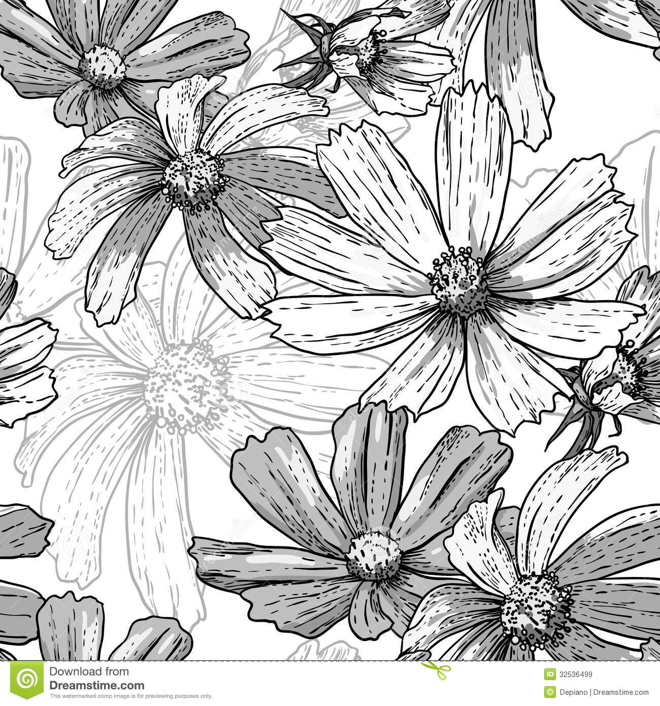 Vintage black and white flower backgrounds comousar vintage black and white flower backgrounds seamless vintage black and mightylinksfo