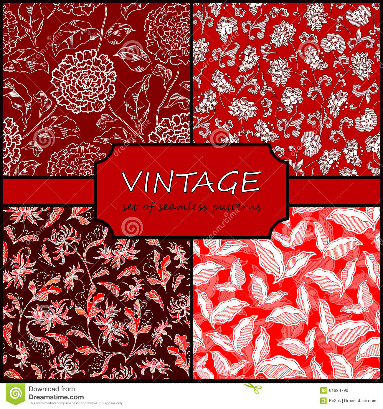 vintage repeating wallpaper - photo #33
